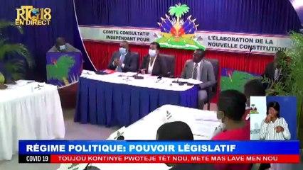 2eme série des 9 Débats sur le projet de la nouvelle Constitution Régime Politique:Pouvoir Leg...