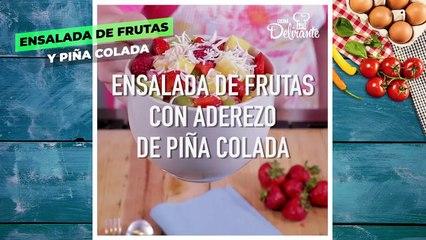 Postres sabor PIÑA COLADA