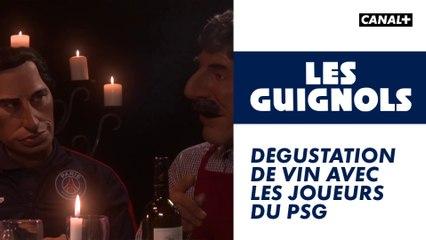 Dégustation de vin avec les joueurs du PSG - Les Guignols - CANAL+