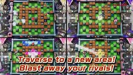 Super Bomberman R Online - Trailer pour la sortie PC, Switch et PS4
