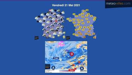 bulletin meteo du jeudi 20 mai 2021