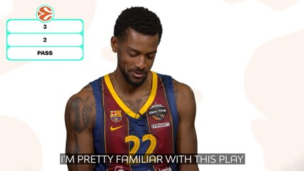 3, 2 or pass? With Barca's Cory Higgins!