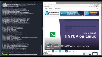 [VPS House] How to install TINYCP on Ubuntu server?