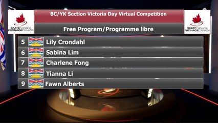 Juvenile Women U12 Group 1 - 2021 belairdirect BC/YK Section Victoria Day Virtual Event (9)