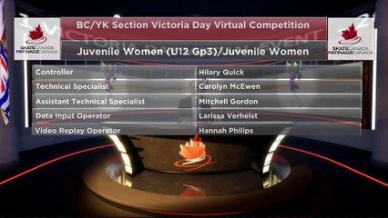 Juvenile Women U12 Group 3 - 2021 belairdirect BC/YK Section Victoria Day Virtual Event (11)