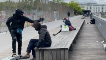 Crack à Paris : Stalindrad désertée par les toxicomanes, déplacés au jardin d'Eole