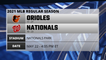 Orioles @ Nationals Game Preview for MAY 22 -  4:05 PM ET