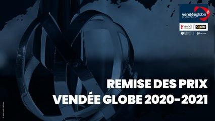Remise des prix Vendée Globe 2020-2021