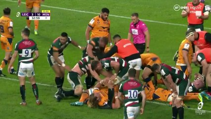 Leicester Tiger v Montpellier Challenge Cup Final Highlights
