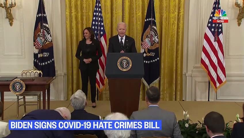 Biden Signs Covid-19 Hate Crimes Act | Nbc News