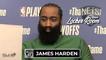 James Harden Game 1 Postgame Interview | Celtics vs Nets