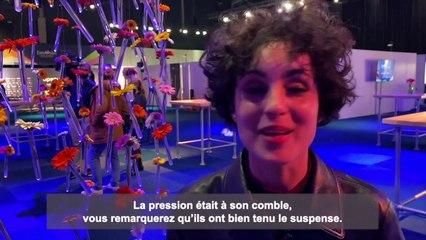 Eurovision 2021 : la France 2e au classement, la réaction de Barbara Pravi en direct de Rotterdam