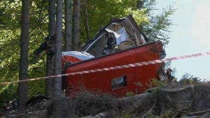 Italie : 14 morts et 1 blessé grave dans la chute d'un téléphérique