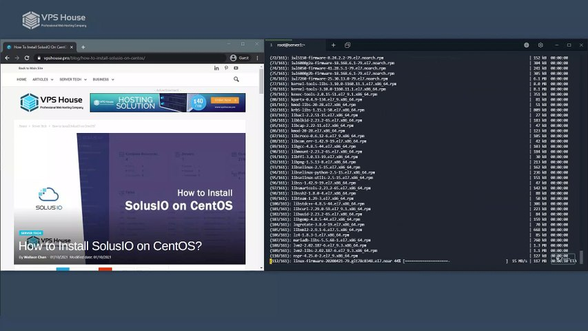 [VPS House] How to Install SolusIO on CentOS?
