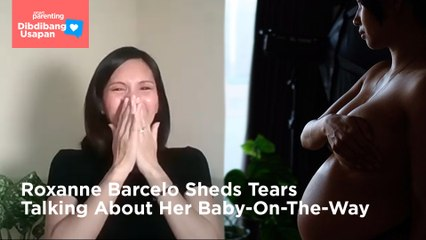 Roxanne Barcelo Sheds Tears Talking About Her Baby-On-The-Way