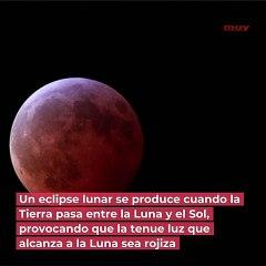 Eclipse total de luna y superluna el 26 de mayo