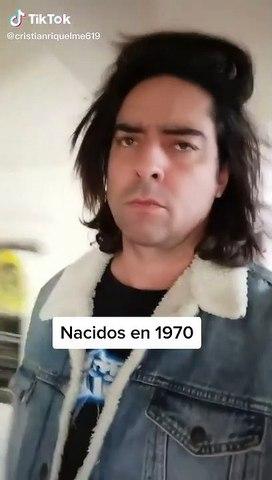 El magnífico vídeo de TikTok que te muestra la evolución de los nacidos en 1970 - 1980 - 1990 y 2000...