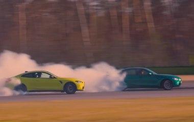 VÍDEO: Drifters profesionales, al límite con los nuevos  BMW M3 y M4 2021