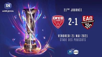 D1 Arkema - J21 : Dijon FCO - EA Guingamp (2-1)