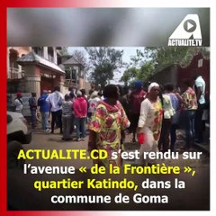 Nyiragongo-Goma: à Katindo, ces immeubles se sont écroulés