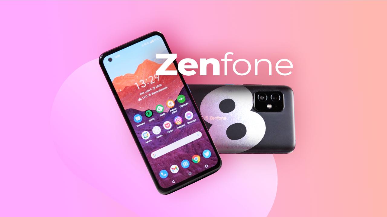 Asus Zenfone 8 : Un smartphone HAUT DE GAMME dans un format riquiqui !