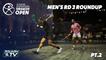 Squash: El Gouna International 2021 - Men's Rd 3 Roundup Pt.2