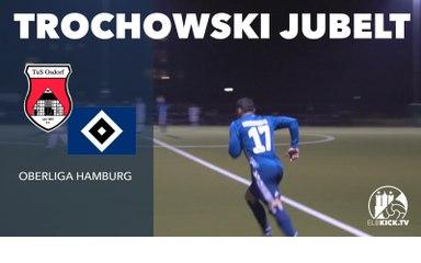 Traumtor beim Comeback! Piotr Trochowski feiert perfekte HSV-Rückkehr   TuS Osdorf - HSV III (Oberliga Hamburg)