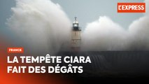 Tempête Ciara : 90 000 foyers privés d'électricité