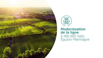 Modernisation de la ligne à 400 000 Volts Eguzon-Marmagne