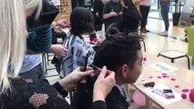 Les élèves ont coupé leurs cheveux pour faire des perruques