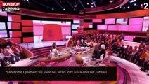 Sandrine Quétier : le jour où Brad Pitt lui a mis un râteau (Vidéo)