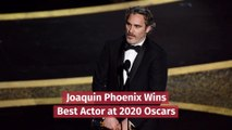 Joaquin Phoenix Wins Best Actor