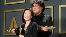 'Parasite's' Oscar Win Is Setting The Internet Alight