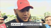 Eduardo Rodriguez On Starting Camp Without Mookie Betts, Alex Cora