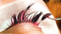 Here's how eyelash extensions are removed