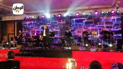 نجوم منتخب اليد يرقصون على أغاني هشام عباس في حفل تكريمهم