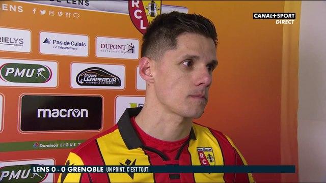Florian Sotoca après Lens / Grenoble