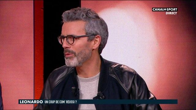 Dominique Armand et les coulisses de l'interview de Leonardo sur le plateau du CFC