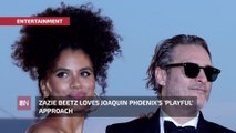 Zazie Beetz On Working With Joaquin Phoenix