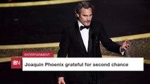 Joaquin Phoenix's Oscars Speech
