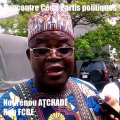 Article 184 1er alinéa du Code électoral :  L'He Nourénou Atchadé au sujet des 10% de suffrage au plan national  ( Il avertit sur ses conséquences...)