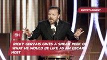 Ricky Gervais Cracks Jokes On The Oscars