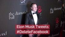 Elon Musk Doesn't Support Facebook