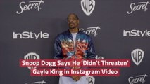 Snoop Dogg's Post About Gayle King