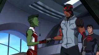 Cyborg joins the outsiders Young justice 3×24