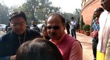 Congress leader Adhir Ranjan reacts to Delhi results