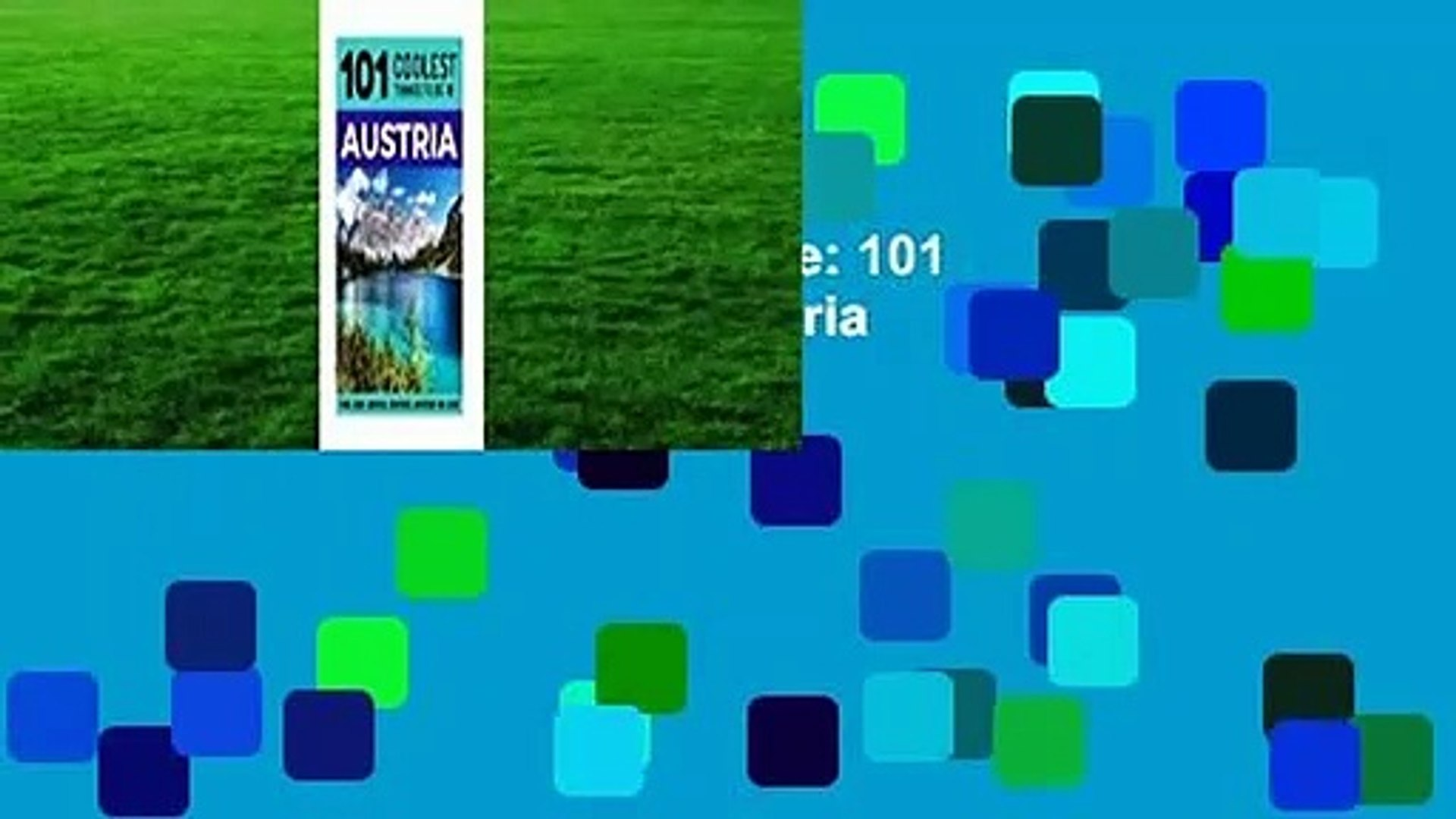 Austria: Austria Travel Guide: 101 Coolest Things to Do in Austria  Review