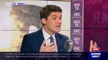 """Aurélien Pradié (LR): """"La droite républicaine n'a pas à devenir, ni l'arrière boutique de Marine Le Pen, ni l'arrière boutique de la macronie"""""""