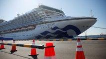 Coronavirus infections nearly double on Diamond Princess ship stranded in Japan