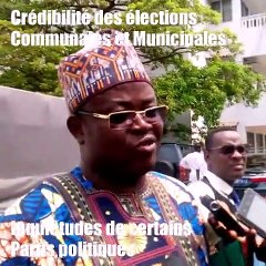 Crédibilité des élections communales et municipales de mai prochain :  Inquiétudes de certains partis politiques